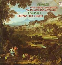 Vivaldi (vinilo Lp) cinco Oboe conciertos-Philips - 9500 299-Países Bajos - 1977-en muy buena condición+/casi como nuevo