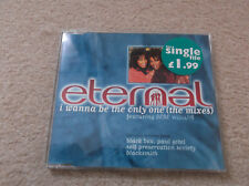 Eternal featuring BeBe Winans - I Wanna Be The Only One (The Mixes) -CD Single