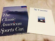 1992 Chevrolet Corvette Dealer Catalog