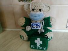 Frontline Hero Teddy Bear ambulance paramedic