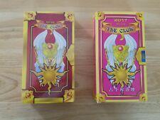Cosplay Anime Card Captor Sakura The Clow 56 Tarot Cards Both Pink & Yellow set