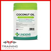 Lindens Coconut Oil 1000mg 90 Capsules Fatty Acids