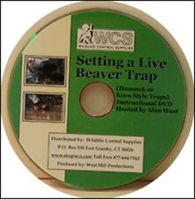 DVD how to set a live beaver trap for beginners or teaching Hancock / Koro