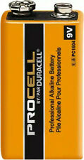 Procell by Duracell PC1604 Alkaline 9V Batteries 11 Batteries *NEW*