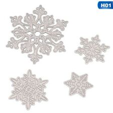 Paper Cut Card Snowflake Metal Cutting Dies Stencil  Scrapbooking Embossing