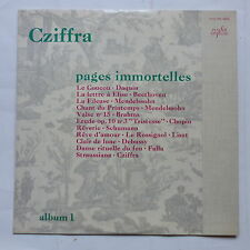 CZIFFRA Pages immortelles Album 1  FALP PM 30200