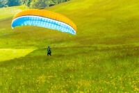 Paraglider - Paramotor wing - MEDIUM - ground handling wing