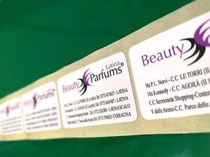 2000 Etichette adesive - chiudibusta - chiudipacco - adesivi - labels -