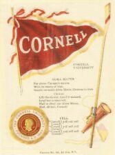 Cornell College University Tobacco silk Richmond Straight S23