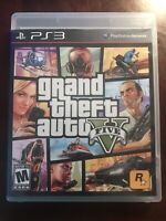 Grand Theft Auto V (Sony PlayStation 3, 2013) Complete PS3 GTA 5 Game w/ Map