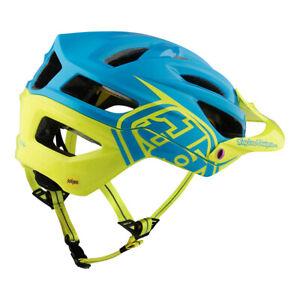 BRAND NEW Troy Lee A2 MIPS Helmet - Decoy Cyan/Yellow - Medium/Large - MTB, DH