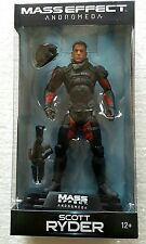 "MASS EFFECT ANDROMEDA SCOTT RYDER 7"" ACTION FIGURE (GREEN WAVE) MCFARLANE"