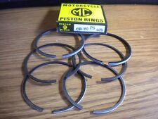 NOS MC Brand .75 Piston Rings Honda CB350 CL350 SL350 XL175 13041-287-010 Japan