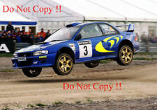 Colin McRae Subaru Impreza WRC 98 Rally GB 1998 Photograph