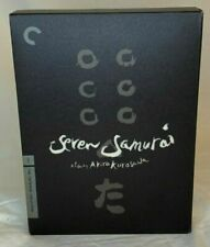 Seven Samurai (Criterion Collection) (Dvd, 1954) Adult owned