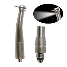 Dental Fiber Optic Handpiece LED Turbina Dentista Fit NSK  Coupler attacco rapid