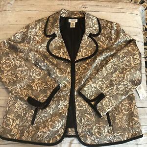 Laura Ashley Size 10 VTG 80s Cropped Jacket Blue Princess Seams Mandarin Collar