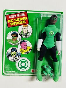 Retro DC Super Heroes Doll Green Lantern John Stewart Green Lantern Exclusive