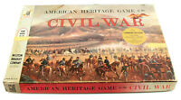1960 American Heritage Game of the Civil War Board Game Milton Bradley Company