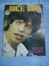 +JUKE BOX 211/73 MICK JAGGER MARC ARYAN LE FORESTIER SKORNIK LOU REED