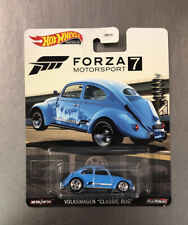 """Hot Wheels Forza Motorsport Volkswagen """"Classic Bug� Blue Paint Free Shipping."""