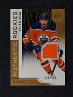 2018-19 UD SP Game Used Gold Jersey Relic Rookie #106 Ethan Bear /499
