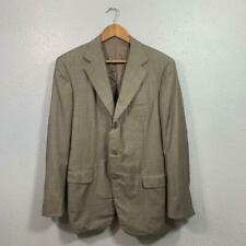 Ermenegildo Zegna 100% Wool Sport Coat Mens Size 44 Regular