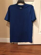 Mens Old Navy Active Shirt Go Dry Size Medium Royal Blue - Euc