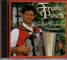 (AT872) Franz Posch spielt Gottlieb Weissbach- 1993 CD