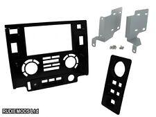 Land Rover Defender 2012 on Matt Black Double Din Car Stereo Fitting Kit
