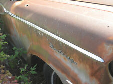 1959 Mercury Monterey Passenger Side Front Fender Chrome Trim RH Molding