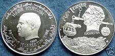 1969 Tunisia Large Silver Proof Jugurtha 1 D