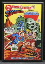 "DC Comics Presents #47 Superman & MOTU 2"" X 3"" Fridge / Locker Magnet. He-Man"