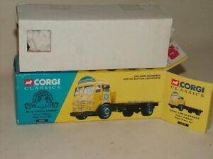 CORGI CLASSICS DIECAST BOXED 1:50 FODEN 4 WHEEL RIGID BLUE CIRCLE CEMENT 12501