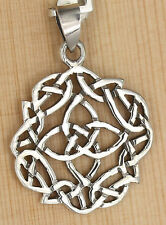 Anhänger Rund keltischer  knoten Kreuz Celtic Kelten Schutz  Amulett  Cross