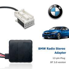 12Pin Musik Radio Stereo AUX in Adapterkabel mit Filter für BMW E60 E61 E62 E63