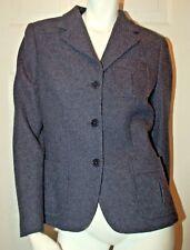 Lauren Ralph Lauren Indigo Wool Blend Jacket Sz 8 Retail $298.00
