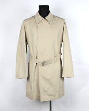 Hugo Boss Black Label Ascot Men Trehch Coat Jacket Size EU50 UK40, Genuine