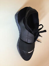 WOMEN BLACK TRAINERS SIZE 3