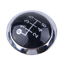 Fit for Toyota Avensis 2009-2019 Interior Gear Shift Knob Cap Cover Trim 6 Speed