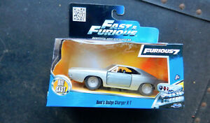 """JADA TOYS """"FAST & FURIOUS 7"""" DOM'S DODGE CHARGER R/T """"BARE METAL"""" 1/32nd SCALE"""
