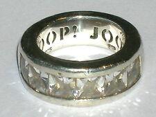 Großer JOOP Designer Ring Silber 925 Sterling   Ø ca.18mm