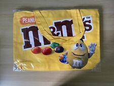 More details for m&ms tote shopping bag, peanut design,  reusable large