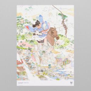 Tokyo 2020 Paralympic Official Art Poster Akira Yamaguchi B2 H728xW515