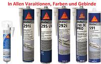 Sikaflex in diversen Variationen/Gebinde/Farbe Dichtstoff Dichtmittel Kelbstoff