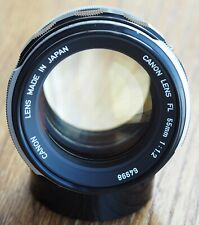 Canon FL 55mm 1.2 lens | 55 f1.2 55/1.2