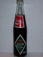 10 OZ COCA COLA COMMEMORATIVE BOTTLE - 1984 JOHNSTON COCA COLA YOUTH CLASSIC