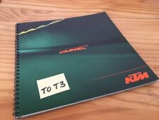 KTM Super Duke 990 LC8 moto prospectus brochure publicité prospekt pub catalog