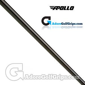"Apollo Straight Stepless Putter Shaft (120g) - 0.370"" Tip - Black Gloss PVD"