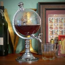 SPILLATORE DISPENSER A FORMA DI GLOBO TERRESTRE BIRRA BEVANDE DRINK VINO 3,5L